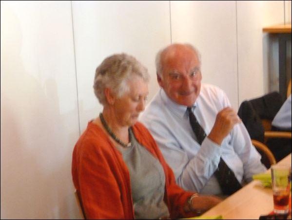 Liz Sutherland & Tony Hogarth.