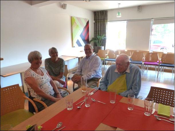 Pat Sinclair, Moira McGuire, David Stevenson & George Sinclair