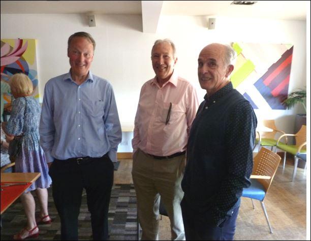 Sandy Sutherland, Neil Donachie & Norrie Paterson